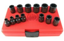 "Chicago Pneumatic SS3113 3/8"" Drive 13 Piece Metric Impact Socket Set"