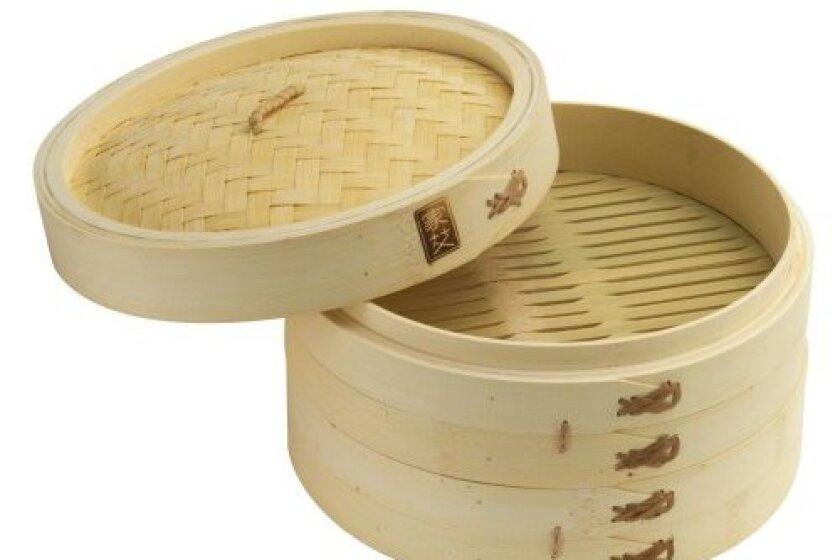 "Joyce Chen 10"" Bamboo Steamer Set - 26-0013"
