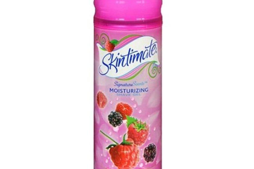 Skintimate Raspberry Rain Moisturizing Shave Gel