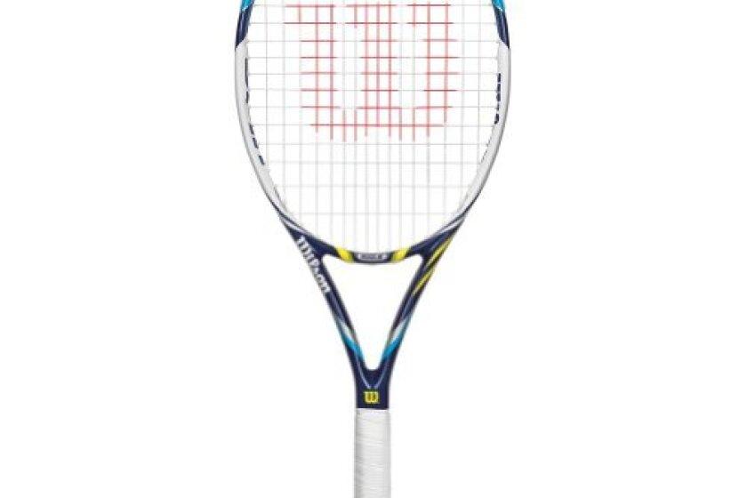 Wilson 2014 Juice 100S STRUNG Tennis Racquet
