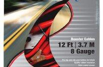 AAA 4324AAA Medium Duty 12' 8 Gauge Booster Cable