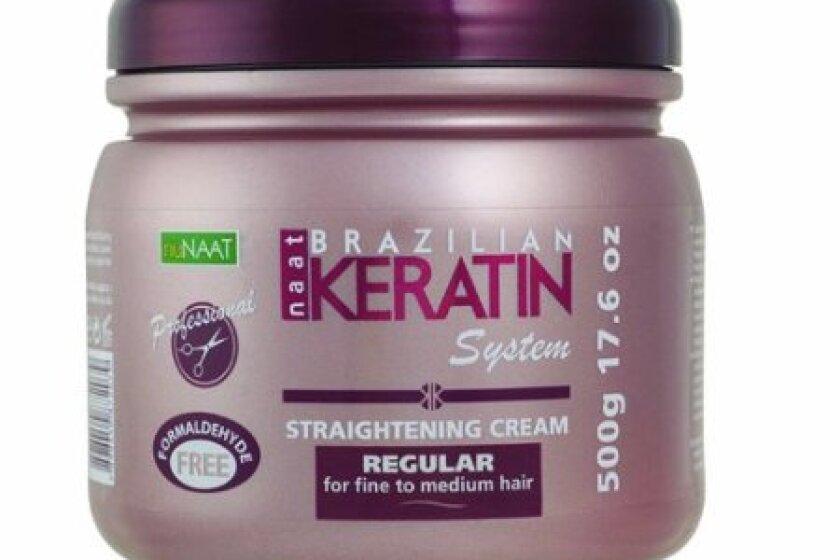 Nunaat Brazilian Keratin System Straightening Cream