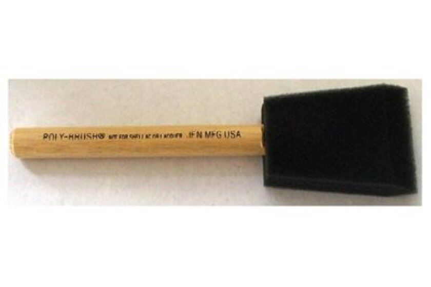 Jen Manufacturing Original  2 Inch Poly-Brush Foam Disposable Brush