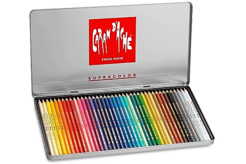 best Caran D'ache Supracolor Aquarelle Pencils