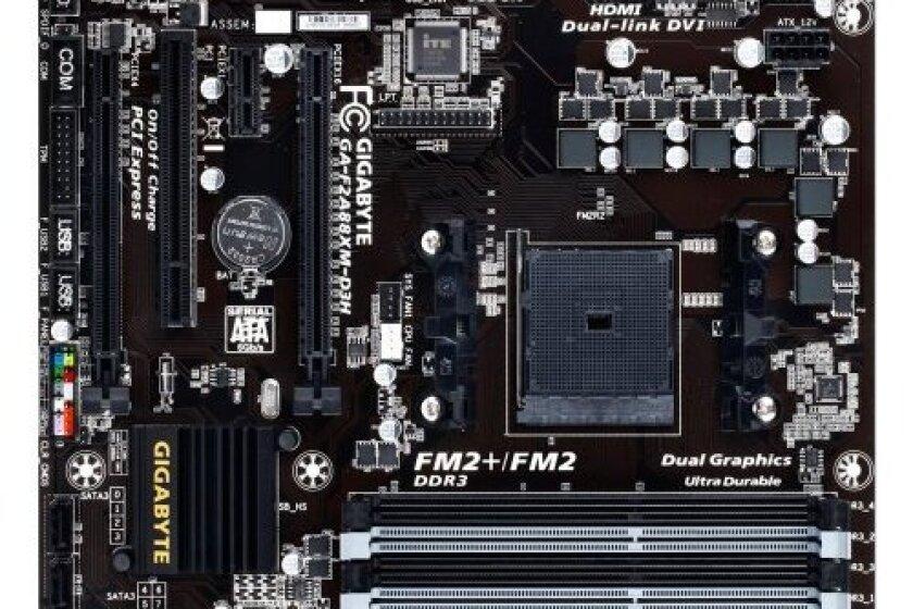 GIGABYTE GA-F2A88XM-D3H FM2+ AMD A88X (Bolton D4) HDMI SATA 6Gb/s USB 3.0 Micro ATX AMD Motherboard