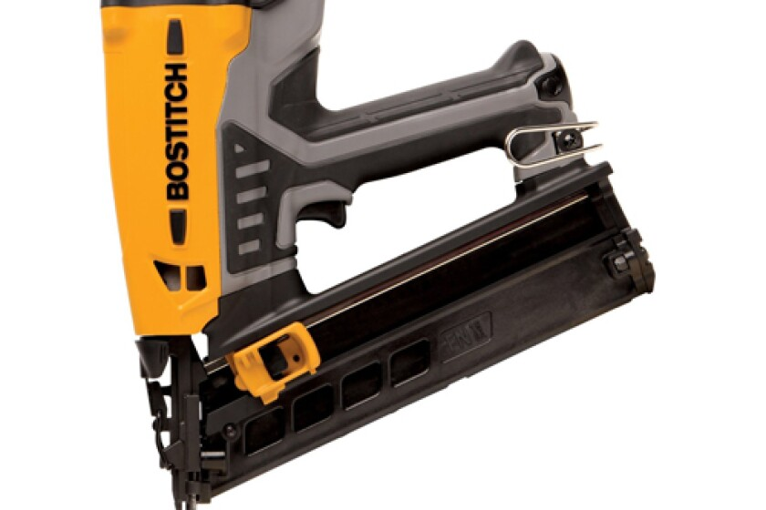 Stanley Bostitch GFN1564K Cordless Angled Finish Nailer
