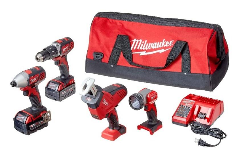 best 18v cordless tool combo kit