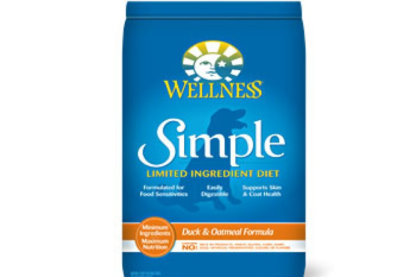 Wellness Simple Solutions Duck & Oatmeal Formula Dry Dog Food