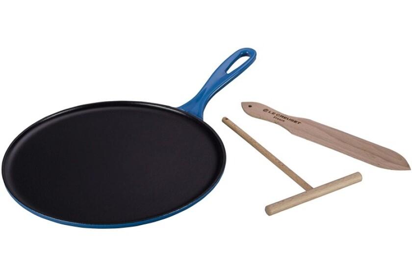 best Le Creuset Enameled Cast-Iron Crepe Pan