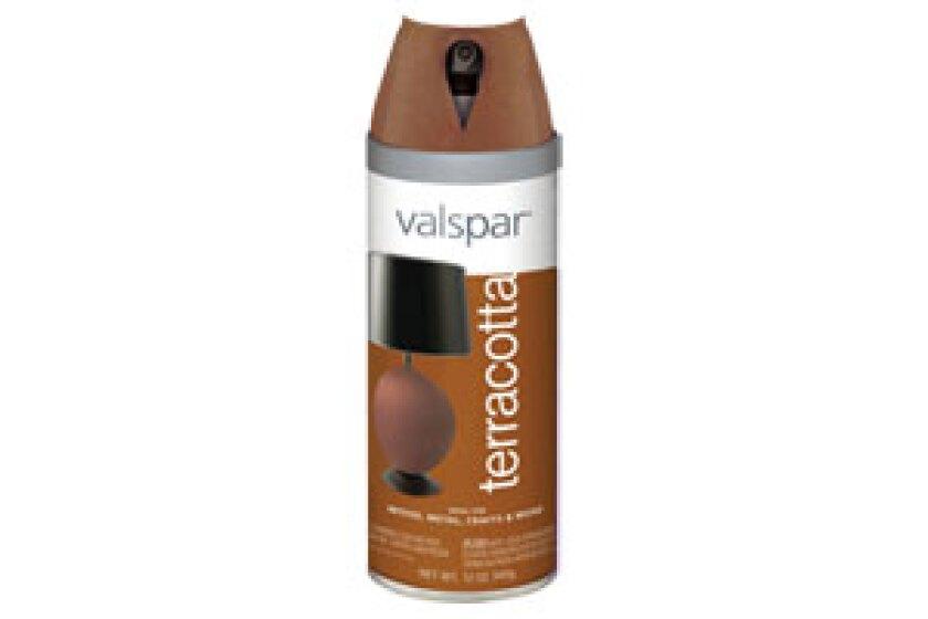 Valspar Terracotta Touch Spray Paint