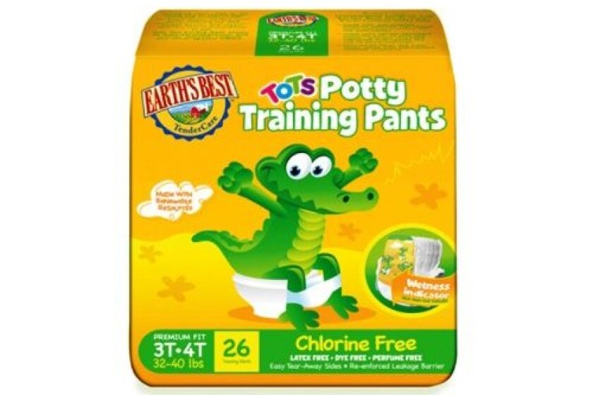 Earth's Best Tots, Chlorine-Free Potty Training Pants
