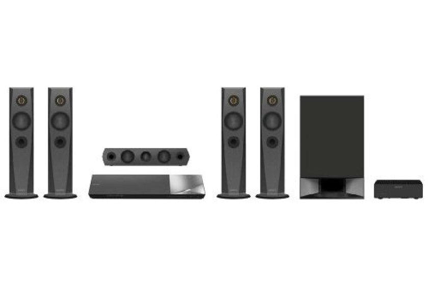 Sony BDVN7200W 1200W 5.1 Channel 4K Hi-Res Blu-ray Disc Home Theater System