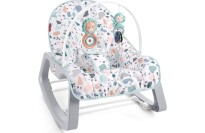 best Fisher-Price Infant-to-Toddler Rocker - Pacific Pebble, Portable Baby Seat