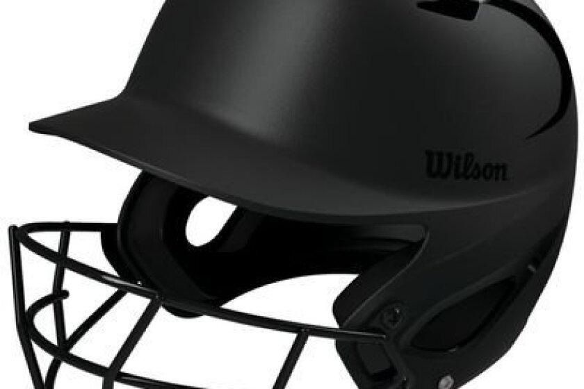 Wilson Superfit Baseball &Softball Batters Helmet With Face Mask