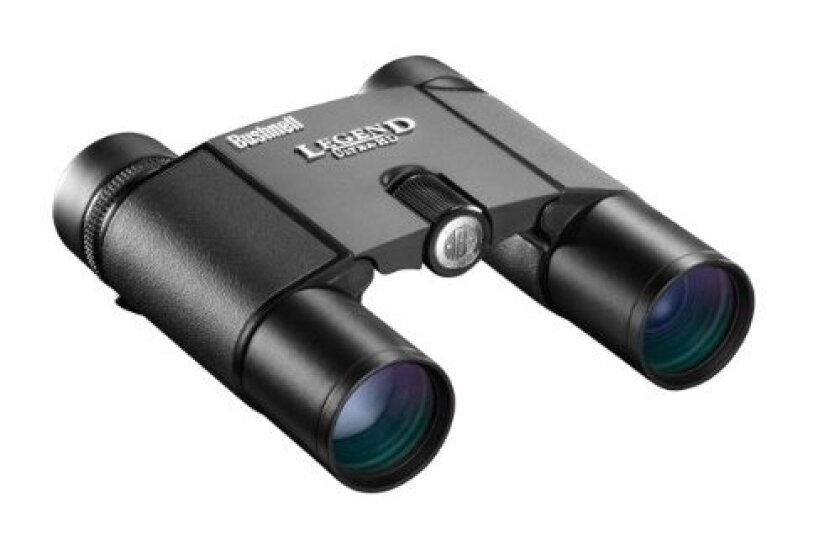 Bushnell Legend Ultra HD Compact Folding Roof Prism Binoculars, 10 x 25-mm
