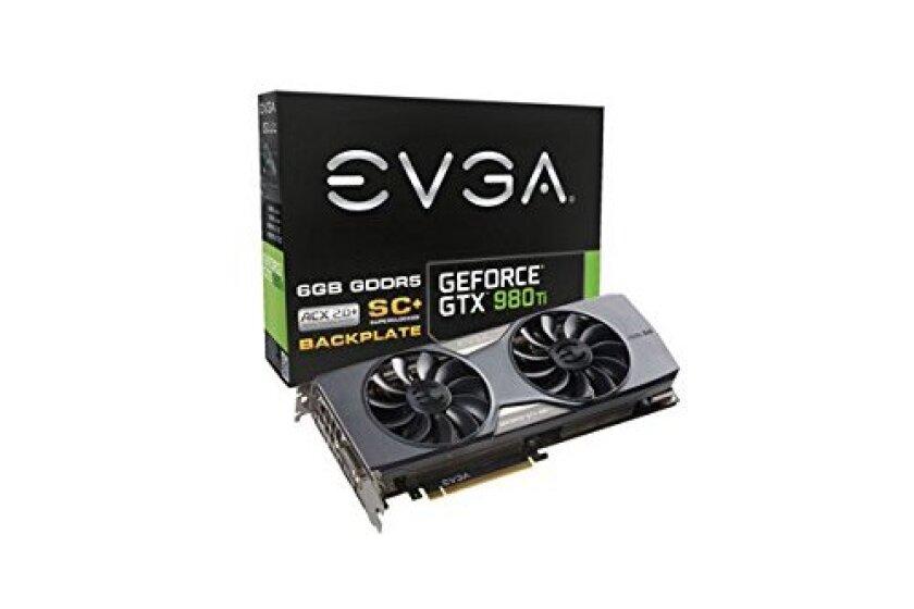 EVGA NVIDIA GeForce GTX 980 Ti SC+ Gaming Graphics Card (06G-P4-4995-KR)