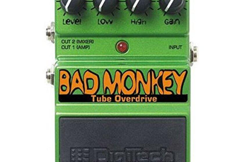 DigiTech Bad Monkey Tube Overdrive Pedal B Stock
