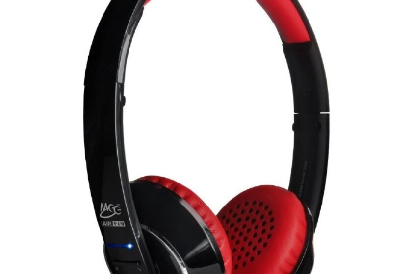 MEElectronics Air Fi Runaway Bluetooth Stereo Wireless Headphones with Microphone
