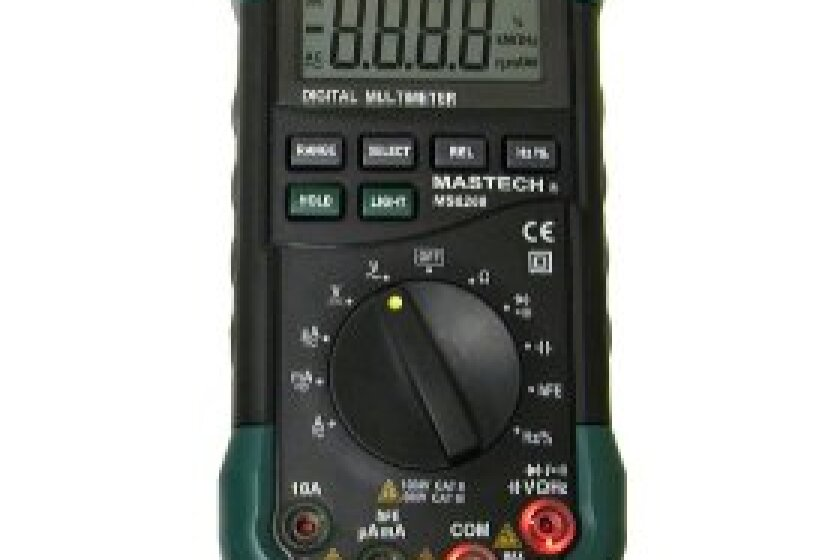 Mastech MS8268 Auto/ Manual Range Digital Multimeter