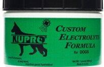 Nupro Custom Electrolyte Formula Dog Supplement