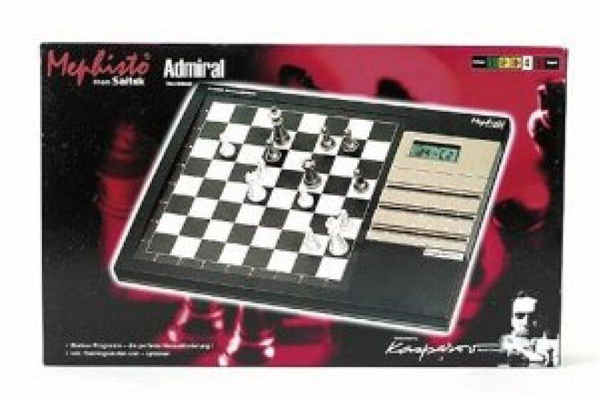 Mad Catz Saitek Mephisto Chess Challenger Computer