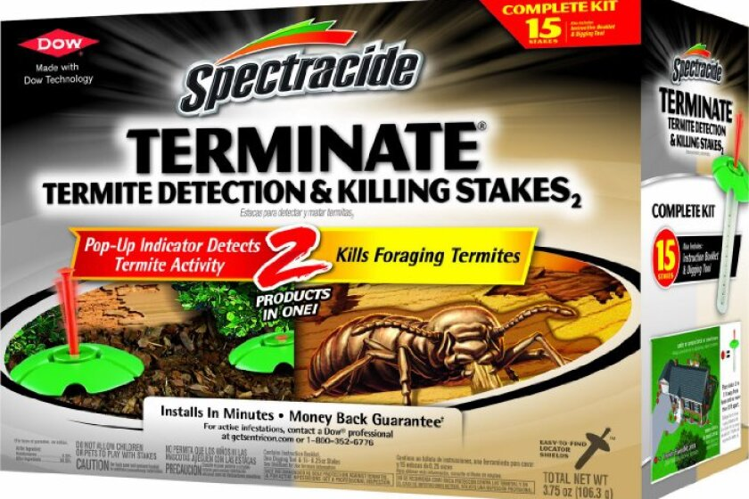 Spectracide Terminate Termite Detection and Killing Stakes