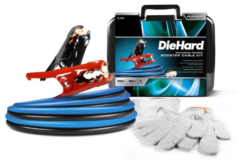 DieHard Platinum Booster Cables