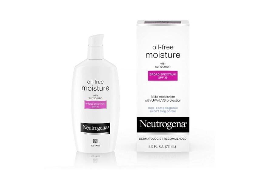 best Neutrogena Oil-Free Moisture Broad Spectrum SPF 35