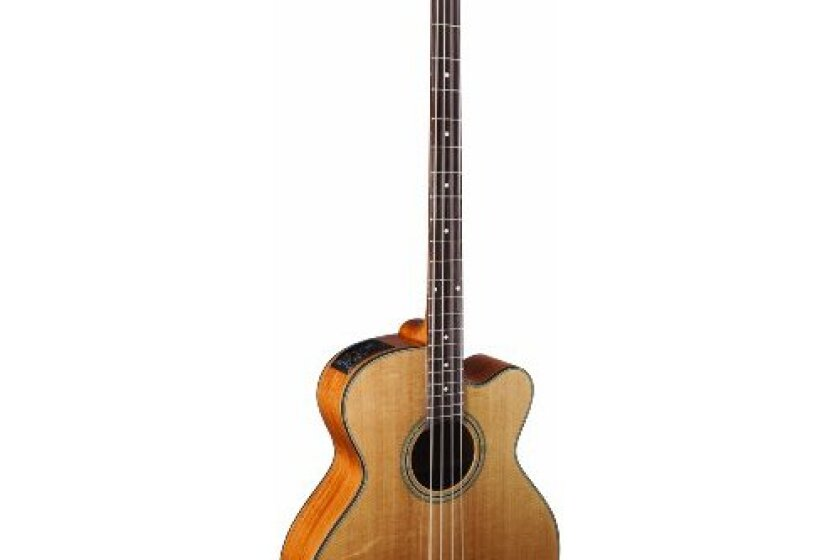 Takamine G Series GB30CE-NAT Jumbo Acoustic Electric Bass Guitar