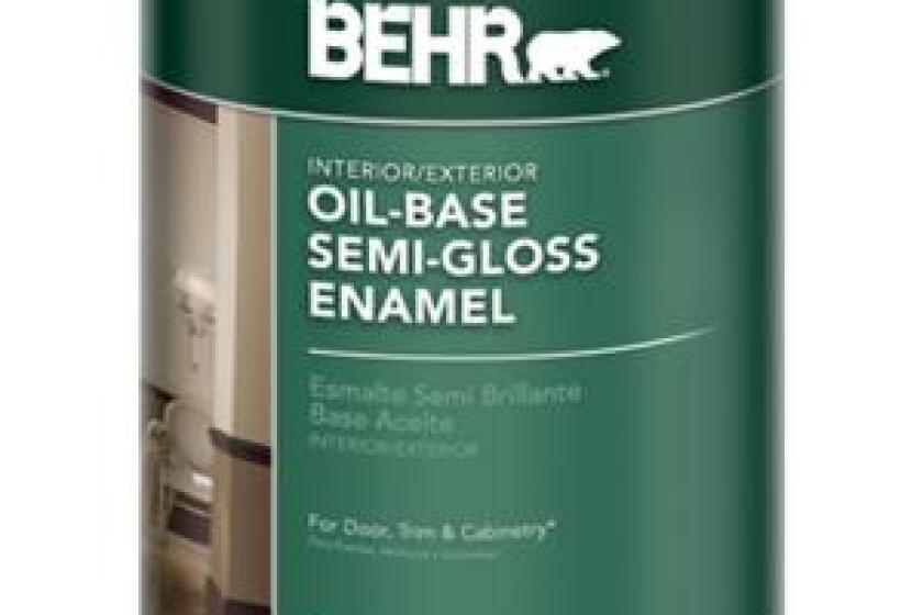 Behr Oil-Base Semi-Gloss Enamel Paint