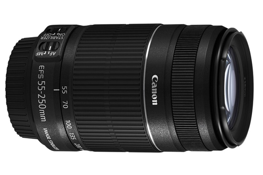 Canon EF-S 55-250mm f/4.0-5.6 IS Telephoto Zoom Lens