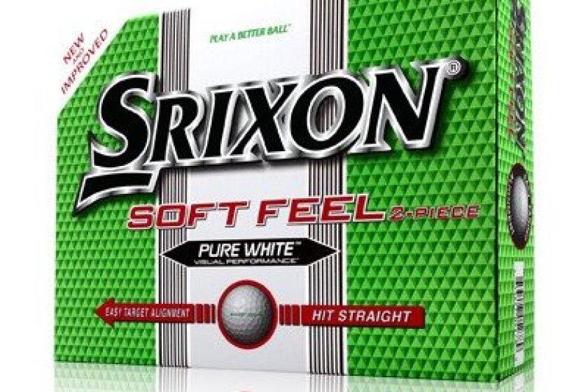 Srixon Mens Soft Feel Golf Ball