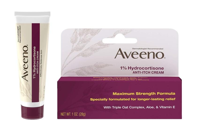 best Aveeno 1% Hydrocortisone Anti-Itch Cream