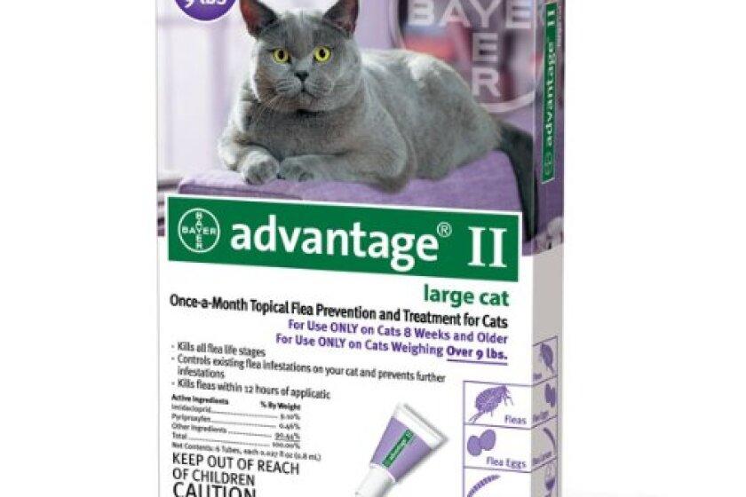 Bayer Advantage II Flea Control for Cats