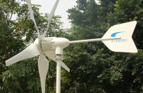 Windmax HY1000-5, 1000 Watt 24 Volt 5 Blade Residential Wind Generator Kit