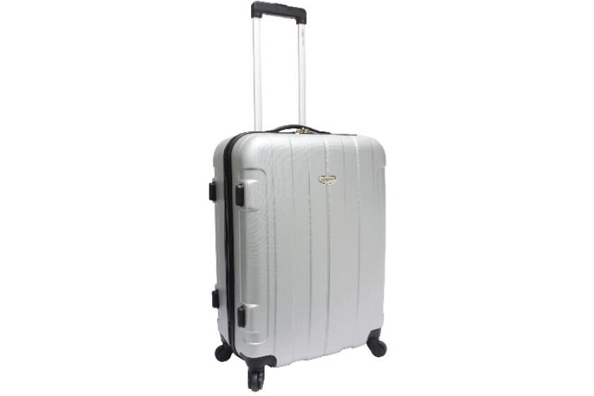 "best Traveler's Choice Rome 24"" Hard Shell Spinner Luggage"
