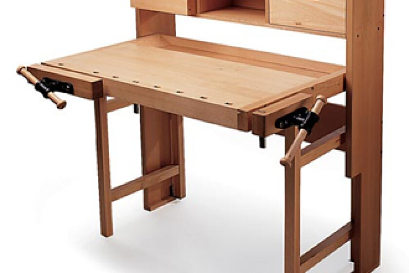 Garrett Wade 88A01-01 Folding Workbench