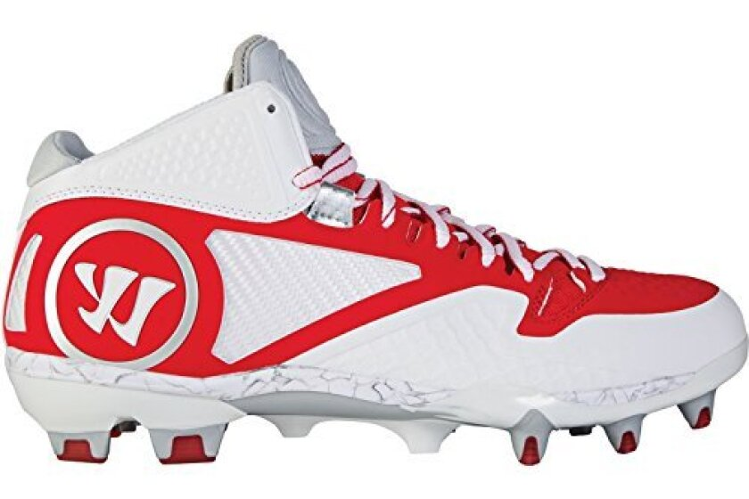 Warrior Mens Adonis 2.0 Mid Lacrosse Cleats
