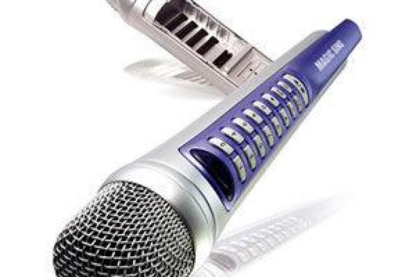 EnterTech ED-9000 MagicSing Karaoke Microphone