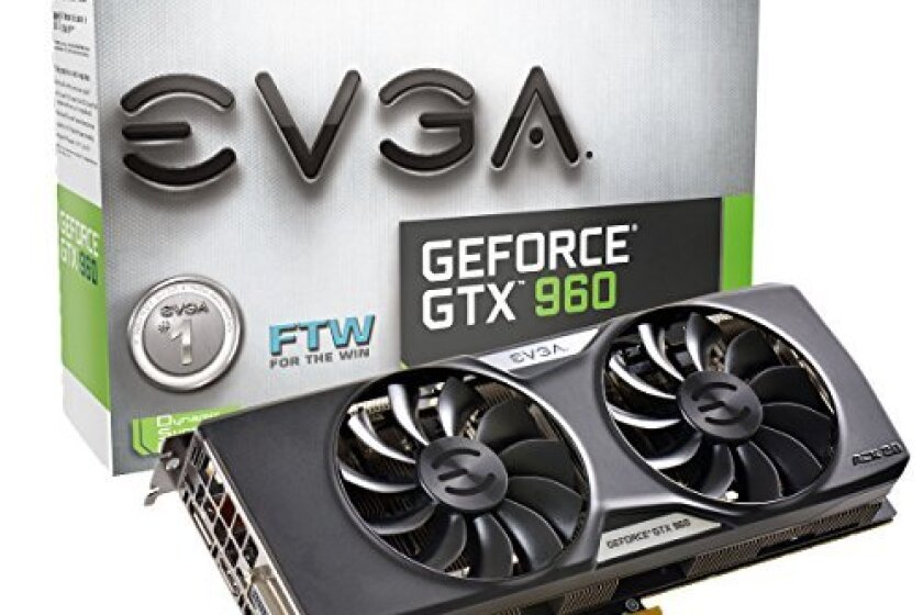 EVGA GeForce GTX 960 4GB FTW Gaming Graphics Card
