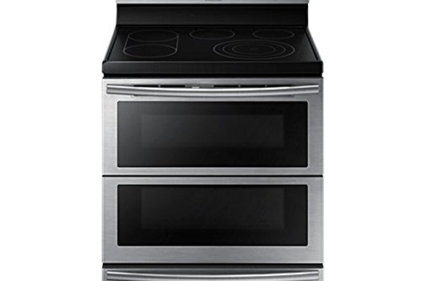 "Samsung 30"" Freestanding Stainless Steel Electric Range - NE59J7850WS"