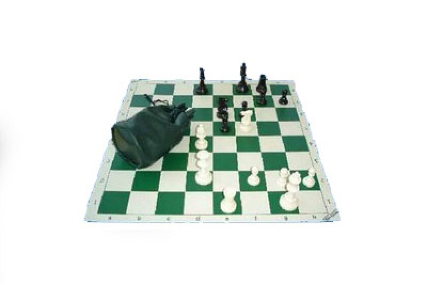 Chess Central Basic Tournament Chess Set Deluxe Triple Weighted Pieces