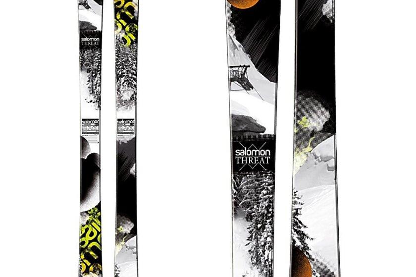 所罗门威胁滑雪