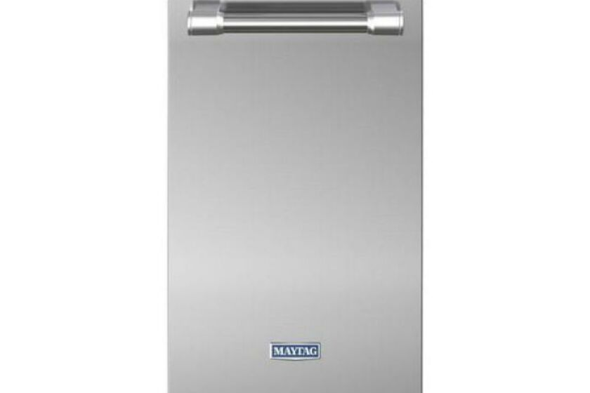 """Stainless Steel Maytag 15"""" Undercounter Trash Compactor"""