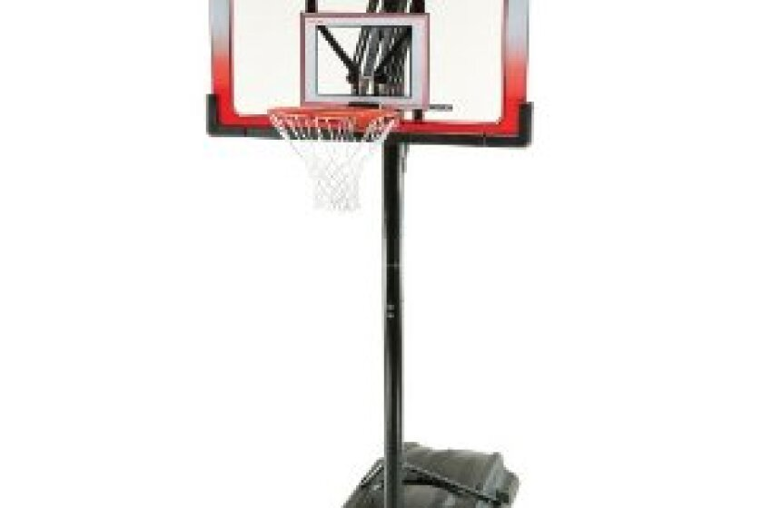 Lifetime 1558 XL Base Height Adjustable Portable Basketball System