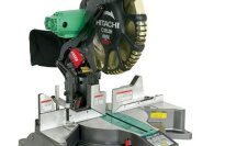 Hitachi Dual Bevel Miter Saw with Laser & Digital Display