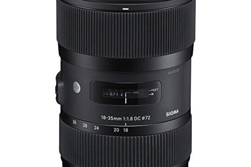 Sigma 210101 18-35mm F1.8 DC HSM Lens for Canon APS-C DSLRs