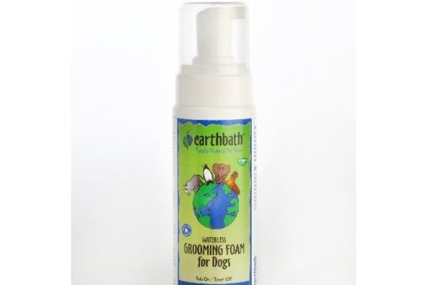Earth Bath Green Tea Waterless Grooming Foam for Dogs