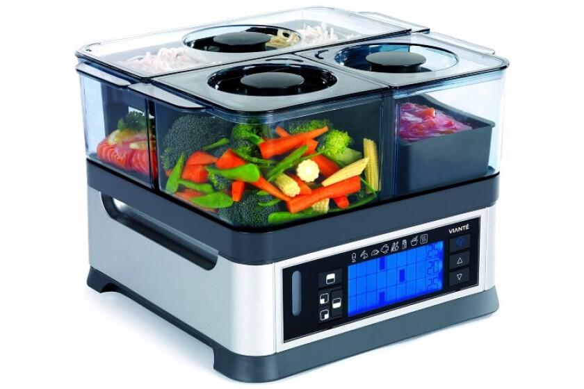 best Viante CUC-30ST Intellisteam Counter Top Food Steamer