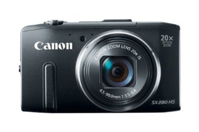 Canon PowerShot SX280 HS 12.1 MP CMOS Digital Camera